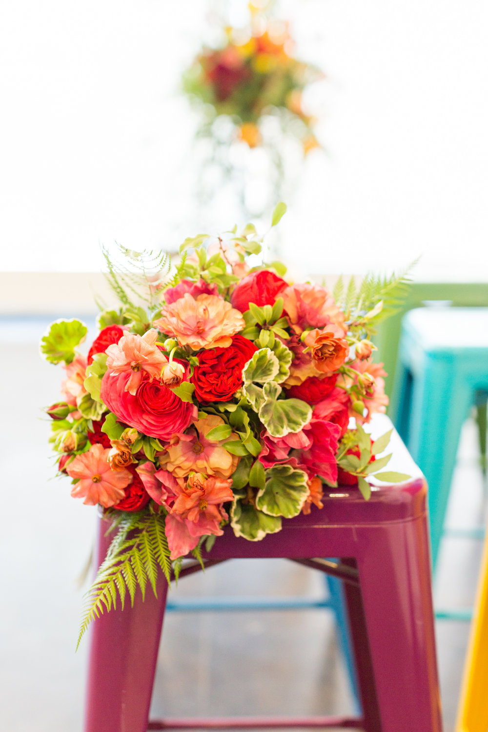COLORFUL BRUNCH for THE KNOT 2019