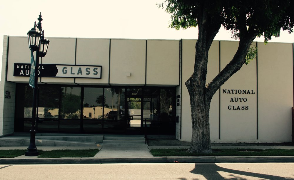 We are located in the National Auto Glass building.