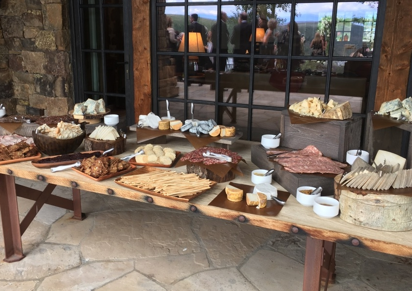 gourmet wedding caterer Vail