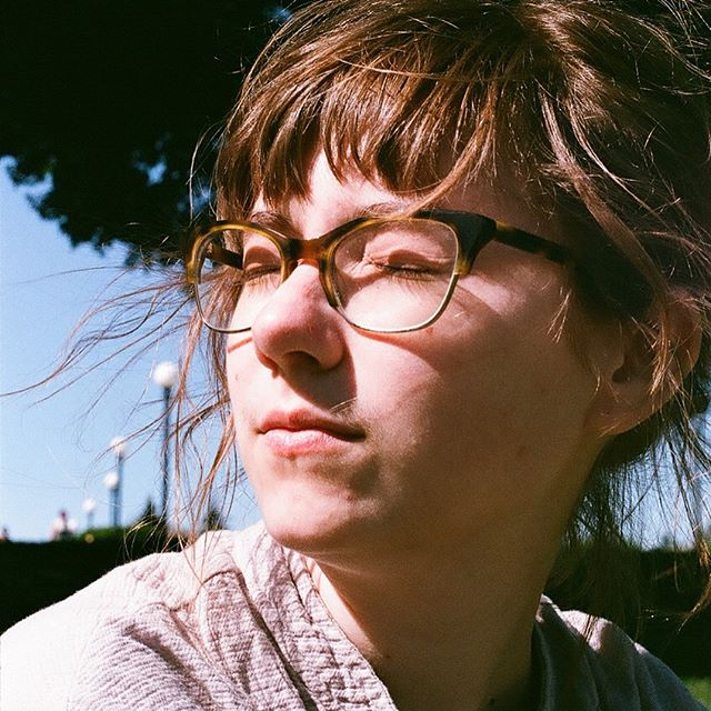 Rly nice film photos by my wonderful friend @hanhislop !! She asked me to squint into the sun and that is what I did. Wow nice times at Cal Anderson 💫💫
