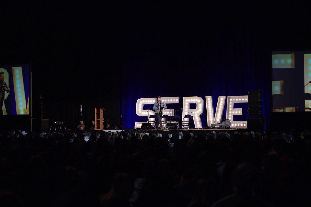 Davey Muise Speaking at SERVUS 2018