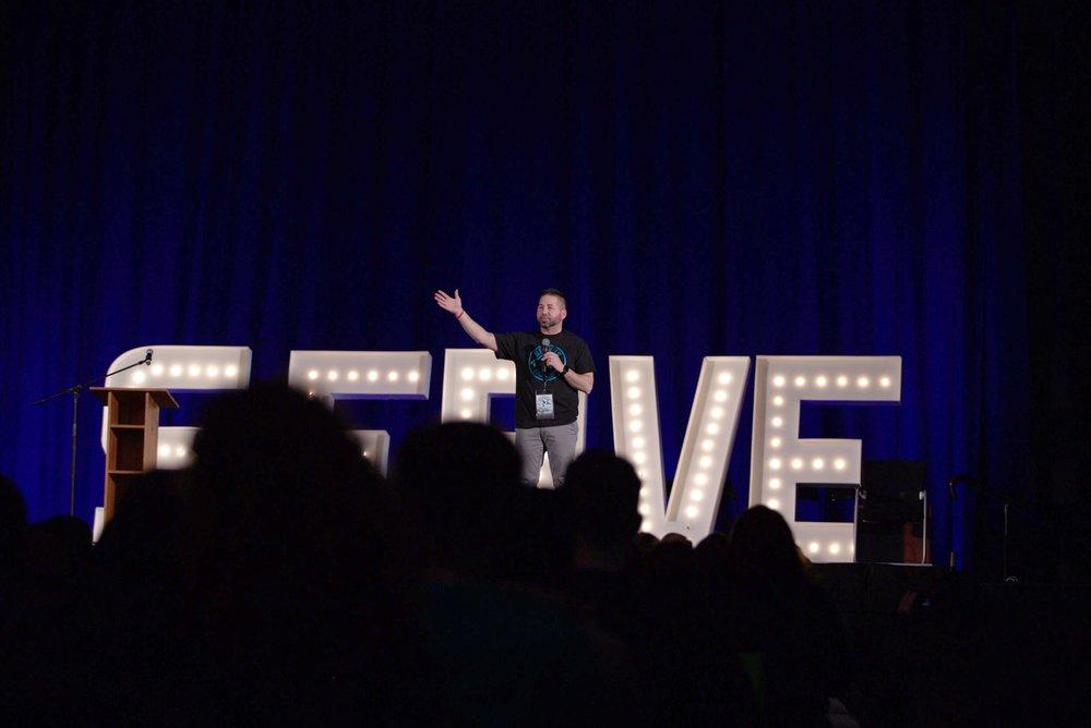 John Norlin Speaking at SERVUS 2018