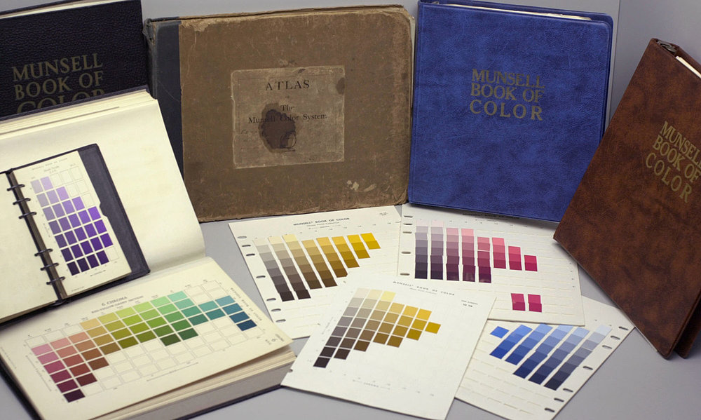 """Collection of the Munsell Book of Color """"Defining, Explaining, and Illustrating the Fundamental Characteristics of Color."""" Munsell Book of Color 1929"""