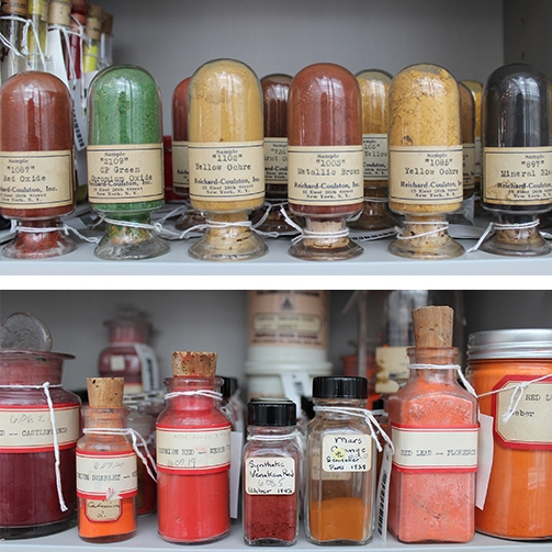Forbes Pigment Collection    Fogg Art Museum Harvard University