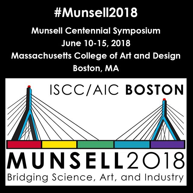This event starts today! Follow the #munsell2018 for updates and info from the symposium! | |  #munsell2018 #colorliteracy #munsell #colorsystem #colorexpert #colorhunters #colorcrush #colorlove #colorblog #livecolorfully #dailydoseofcolor #ihavethisthingwithcolor #hues #interiordesign #interiordesigner #homestager #homestaging #artstudent #colorconsultant #interiordecorator #interiordecorating #ihavethisthingwithcolor #architect #architecturaldesign #colorpsychology #artist #architect#colorscience