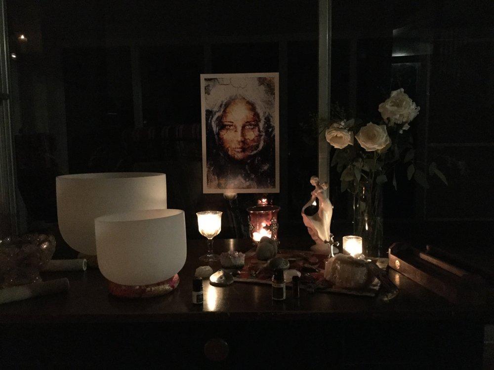 The Magdalene altar - 2018 Retreat