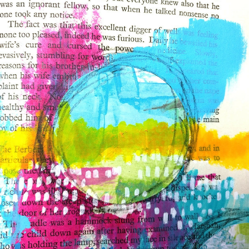 Join me as I work inside my mixed media altered book art journal! I'm creating with my own mixed media digital printables today as I work inside my altered book! Creating these digital products has been on my wish list for quite some time and actually making an art journal page tutorial using them is a real thrill!
