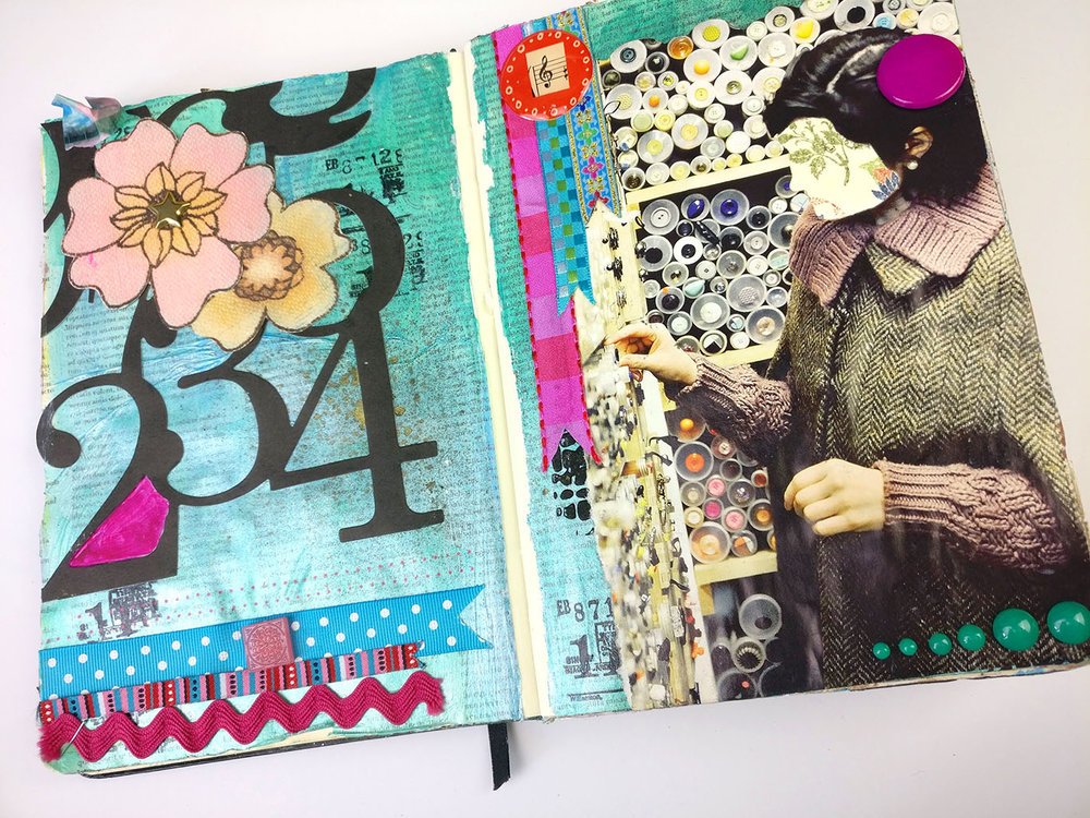 Journal Flip Through 2018 | Part One  Lets go back to the very start of my art journal journey, way back when. Flipping through this journal has brought back so many memories for me, so many pages. And the surprising thing as well, lots of ideas to go back to, things to try again! Enjoy!
