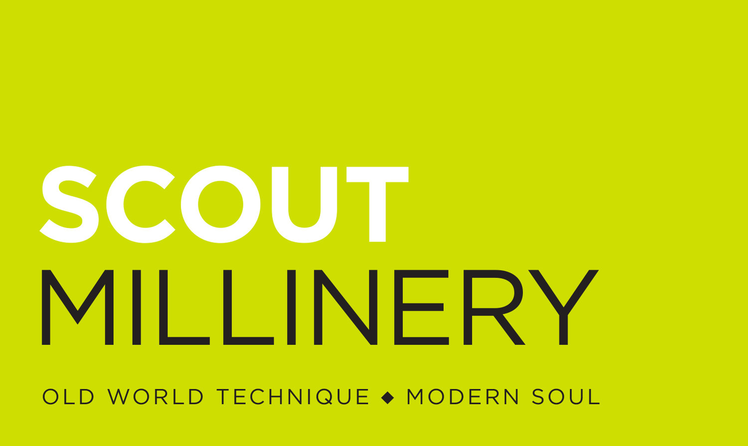 Scout Millinery