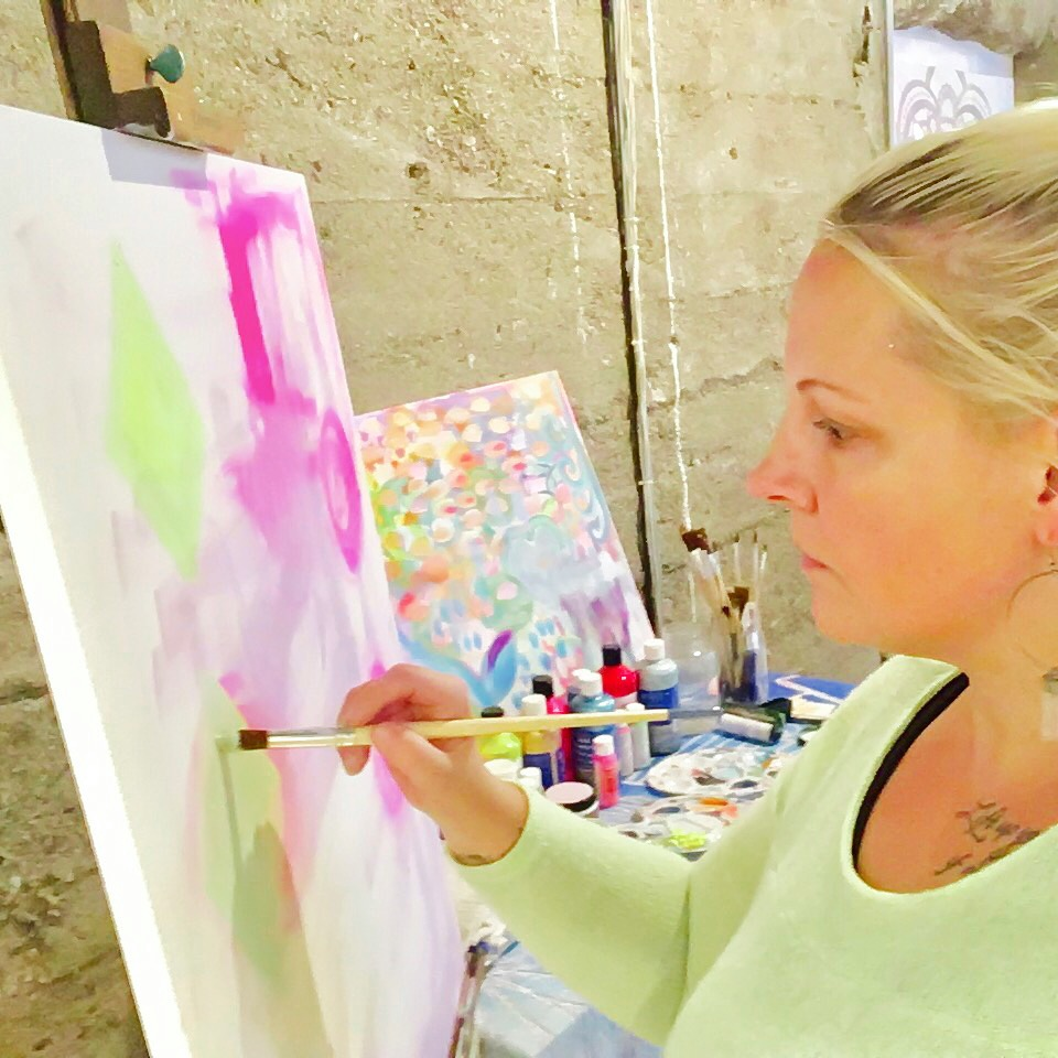 Lara Cornell - Intuitive Artist, Trauma Informed Yoga Teacher, Ayurvedic Bodyworker, Reiki Practitioner, Certified Flower Essence Practitioner, International Retreat Facilitator, Teacher, and Venue Owner.