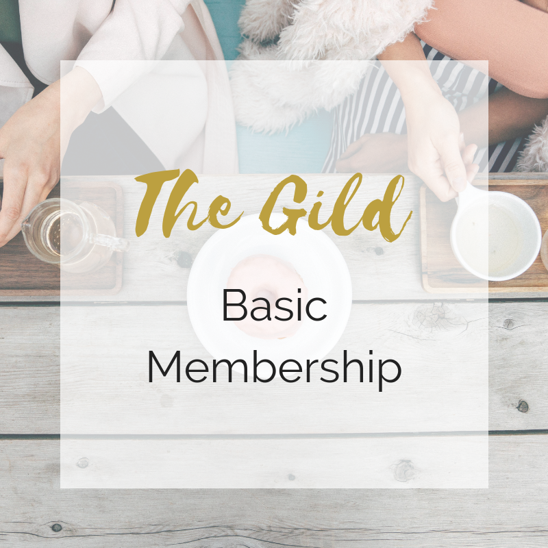 "BASIC - The Gild BASIC MEMBERSHIP includes:All three monthly workshops as discussed through November 2019.Access to The Academy Online which will not necessarily follow The Gild workshops, so there will be additional lessons to be learned online.""Networking time"" on Mondays after workshopsAccess to the Private Facebook group which will include all Academy and Gild members, and recordings of VIP Monthly Business Q&A's.A 30 minute professional business analysis with a Business Coaching ExpertGild Member discounts to local businesses (being added constantly)Regularly $99/mth"
