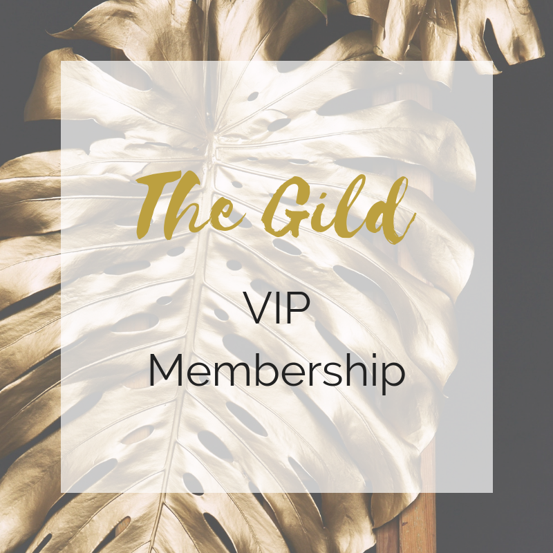 VIP - The Gild VIP MEMBERSHIP includes:The Gild VIP MEMBERSHIP includes everything in the BASIC MembershipPLUS the following from experts in their fields during the year:One-on-one with our in-house professional photographer, Kianna Notermann, who will give you 4 fabulous profile pics for you to use for your business and assistance with your professional bio.A review of the current state of your Social Media and how you can improve it to bring more customers with Social Media Expert, Kianna NotermannA review of the current state of your Website and how you can improve it's functionality (OR help going over wherever you are and working on next steps)An Emotional Wellbeing consult with Certified wellness expert Lara Cornell (also happens to be the founder of Anahata Collaborative)A Wellness Lifestyle consult with Ayurvedic Expert, Laurie Reade Endris: goal setting and lifestyle recommendations including ayurvedic diet/routine and yoga practicesMarketing Assistance from Anahata Collaborative by the way of a featured blog post on our website and social media posts.Monthly Q&A Business Check-ins with Professional business coach, Lauren Armstrong, via Zoom.A one hour business strategy meeting with Lauren ArmstrongVIP access to our upcoming LONDON retreat in collaboration with Calmer UK! (currently being planned for Feb 2020).50% Venue discount on hourly rentalMORE items will be added throughout the year!Monthly value over $800