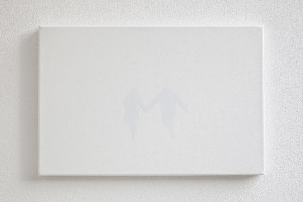 Shadow of a couple, 2011, acrylic on canvas, 30 x 45 cm