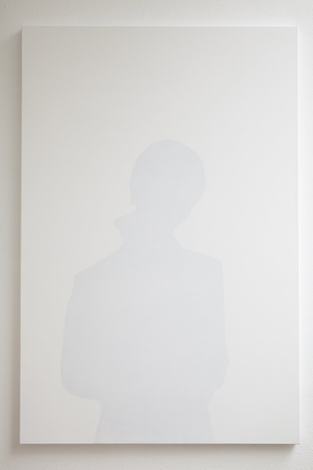 Shadow of a women, 2011, acrylic on canvas, 80 x 120 cm