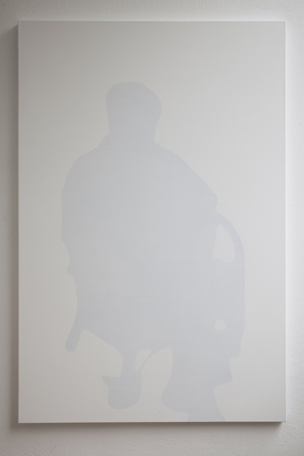 Shadow of old woman, 2011, acrylic on canvas, 100 x 120 cm