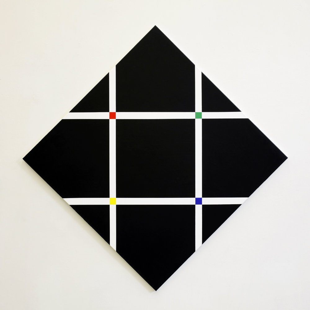 Untitled, 2010, acrylic on canvas, 155 x 155 cm