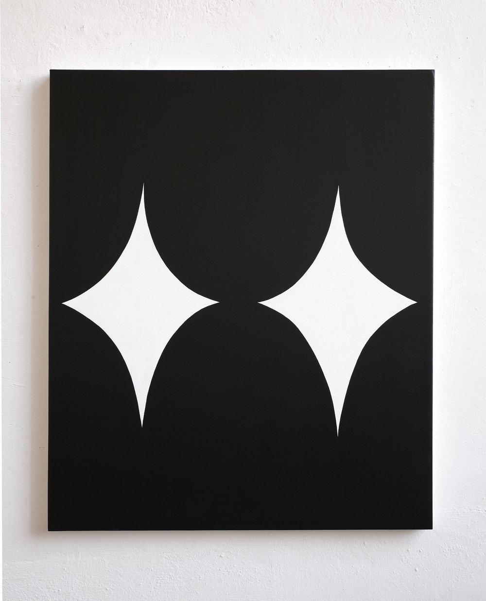 Untitled, 2010, acrylic on canvas, 100 x 120 cm