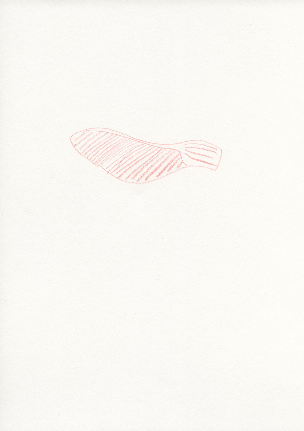 Untitled, 2013, color pencil on paper, 21 x 29,7 cm