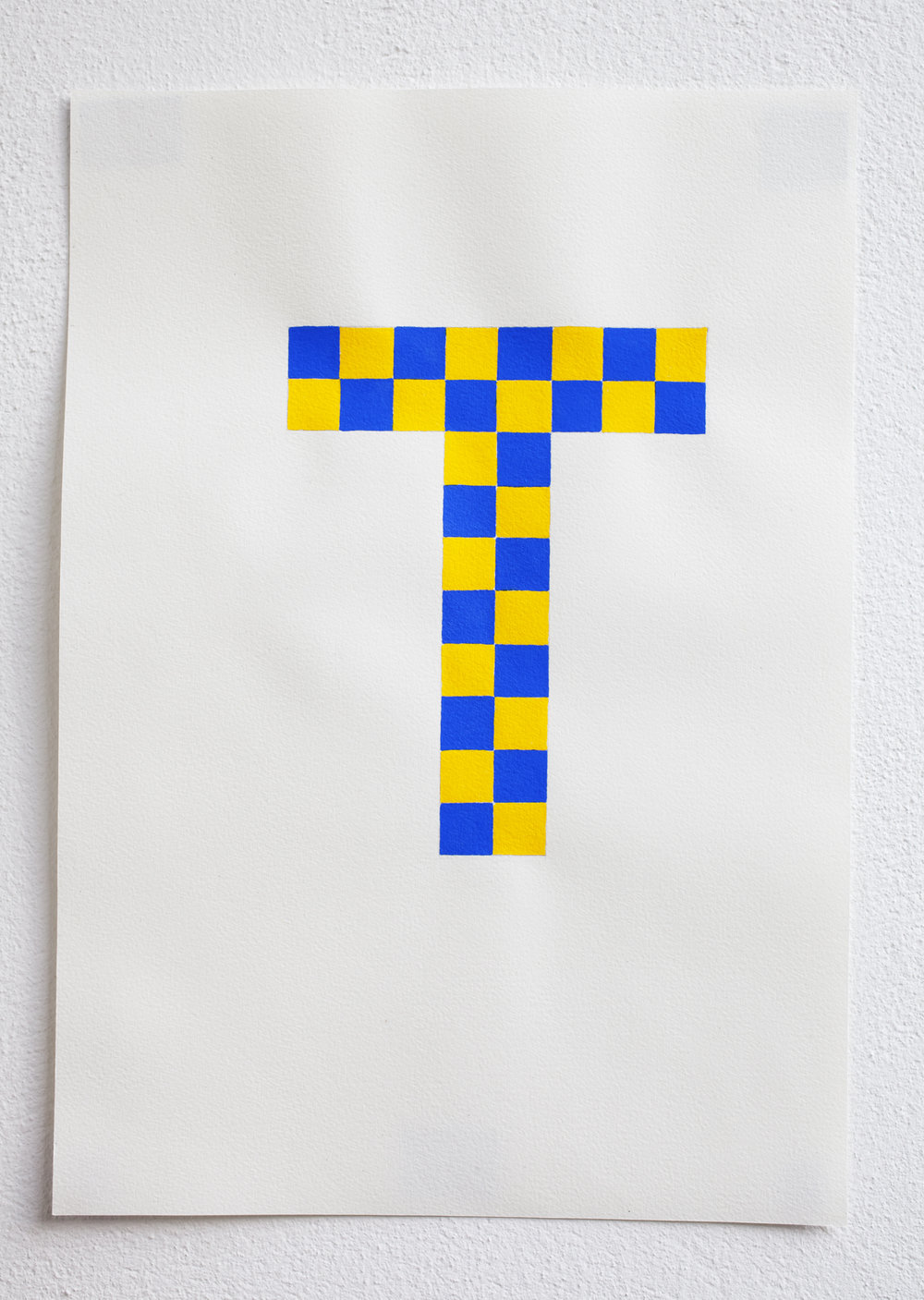 Untitled, 2011, gouache on paper