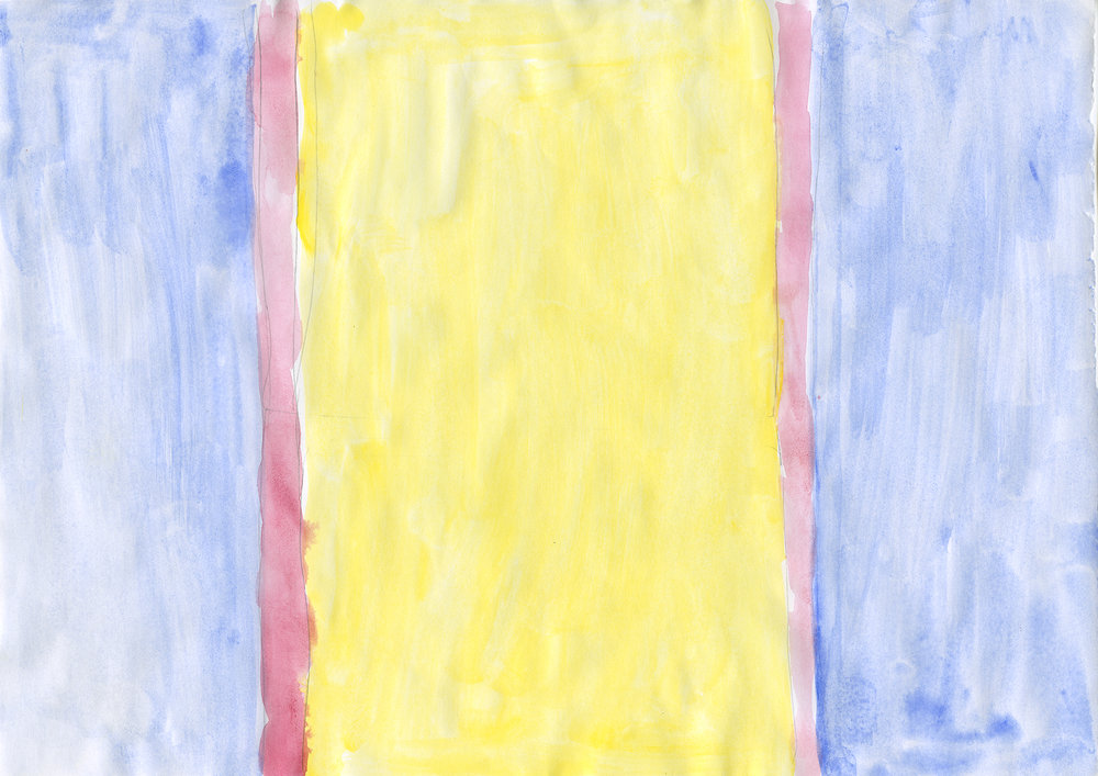 Untitled, 2006, gouache on paper, 21 x 29,7 cm