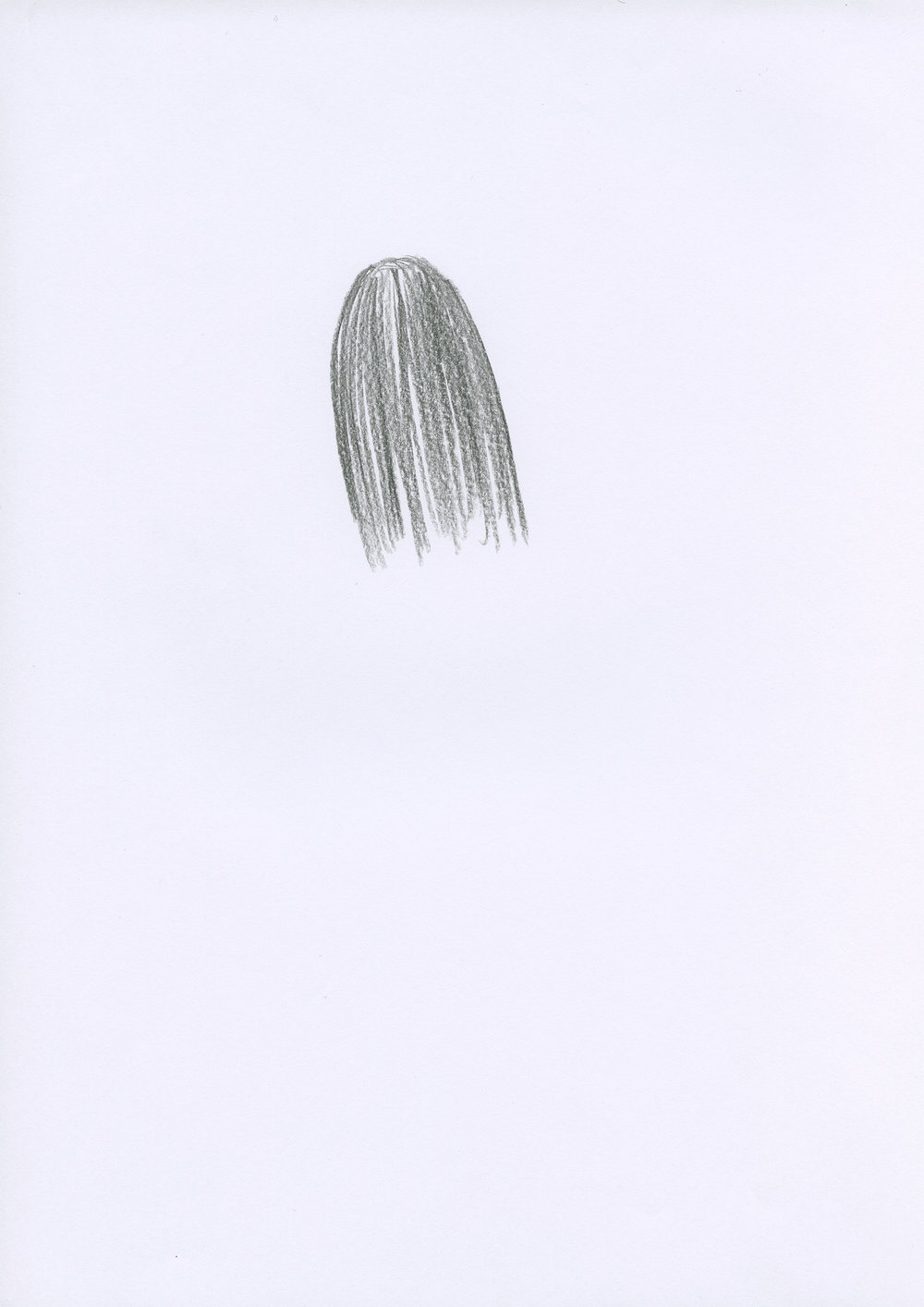 Untitled, 2007, color pencil on paper, 21 x 29,7 cm