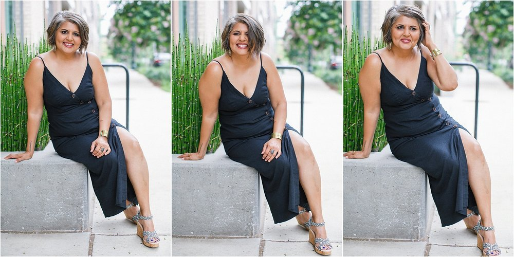 "Asked my photographer not to ""squeeze"" in my arms or tummy...learning to love my body as it is!"