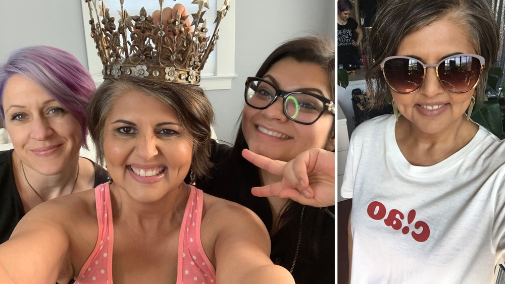 What i love about creatives is that even when the pressure is on, we can still take a few and have fun and laugh and try on crowns so we can embrace the badassery that is us!