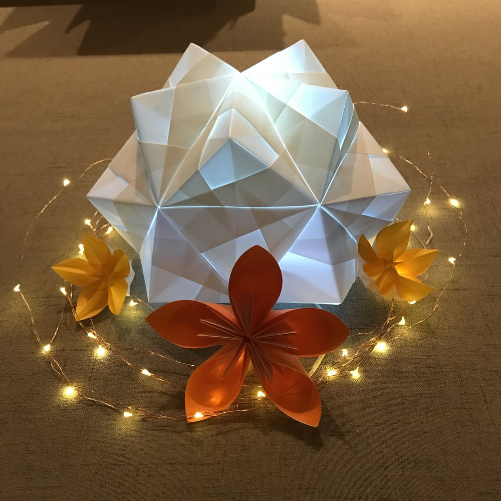 Origami Wedding Centerpiece