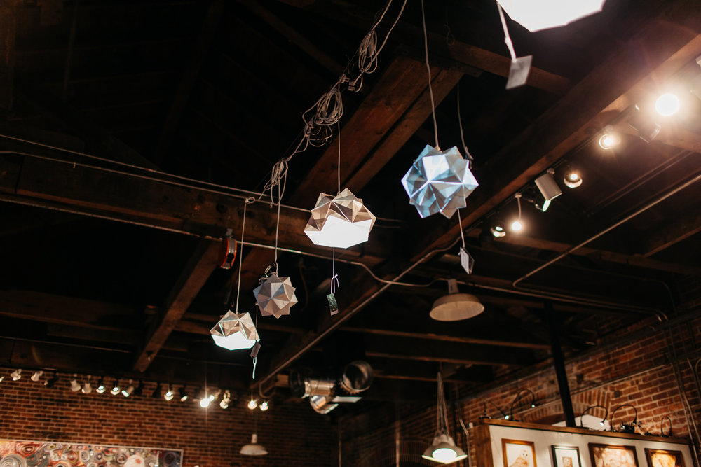 Pendant Lights at The Workhouse (Bend, OR)