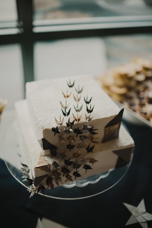 Origami Crane Cake Topper