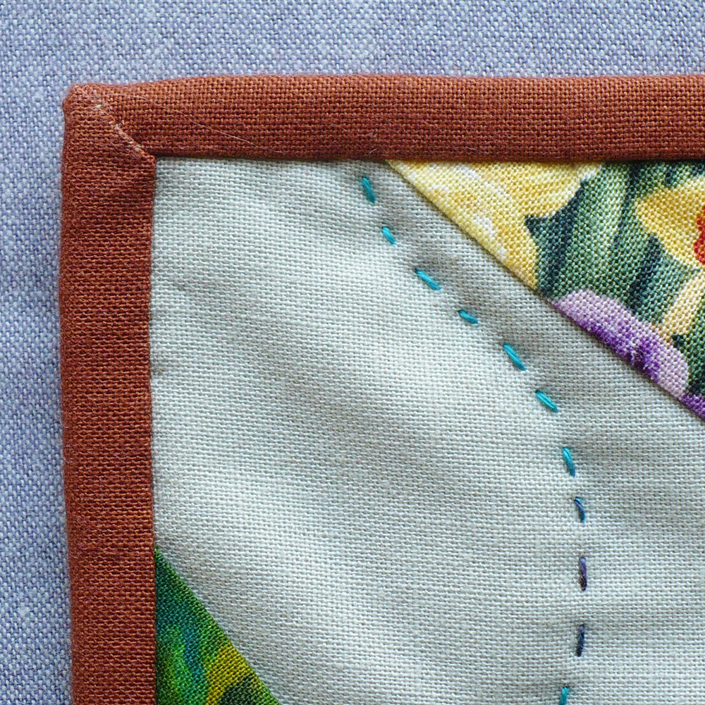 Single Fold Quilt Binding Tutorial