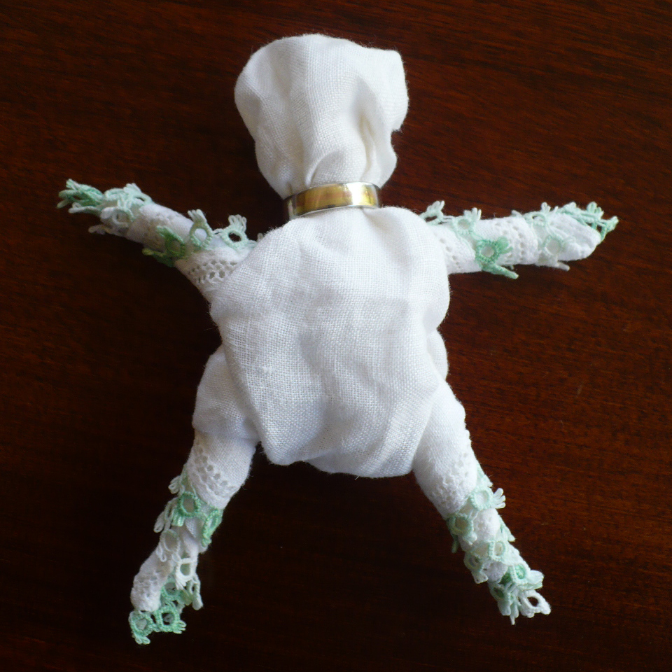 Handkerchief Doll Tutorial