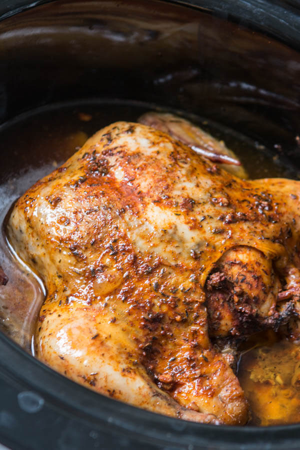 The perfect roast chicken without turning on the oven