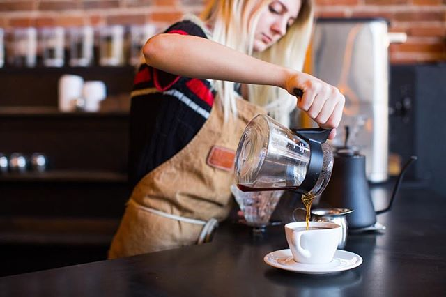 Currently pouring @heartroasters, @novelcoffeeroasters, and @catcloudcoffee. And it's all sooooo so good.  Come thru. 📷: @iamchrismullins