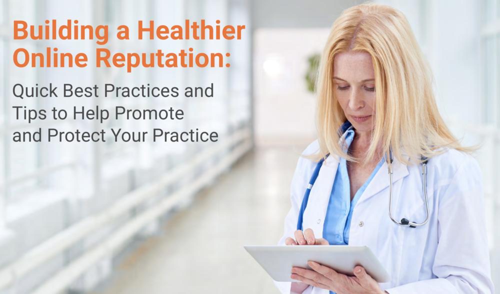 Building A Healthier Online Reputation