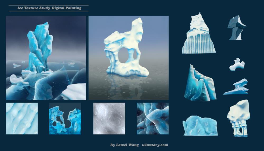 Texture Art The Art Journey of Lewei Wang