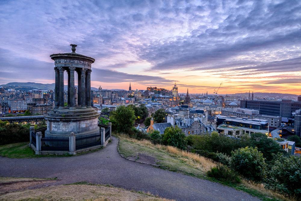 Greetings from Edinburgh