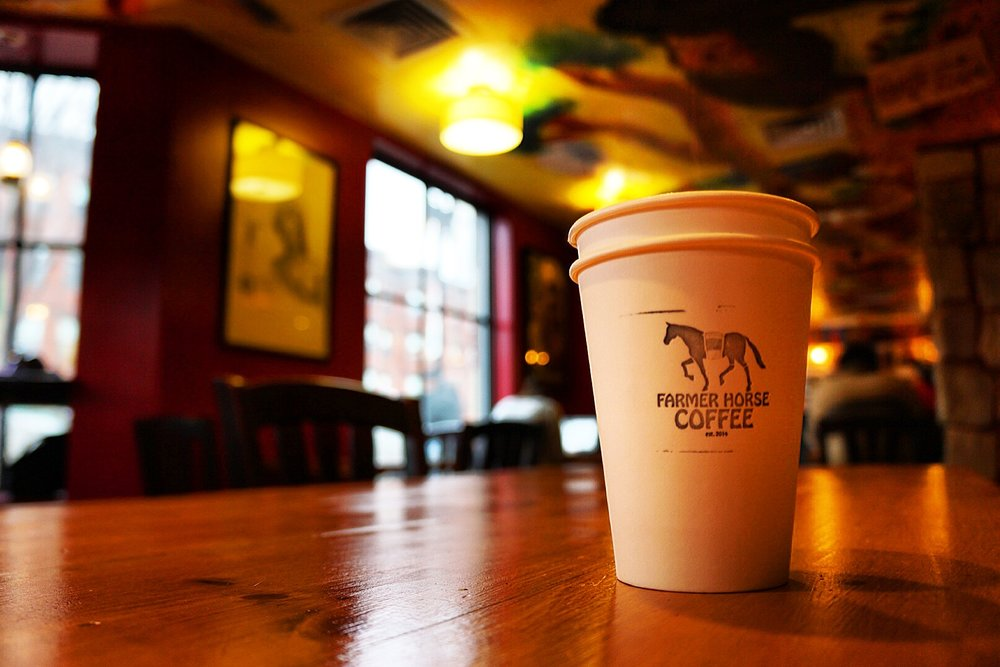 Farmer Horse Coffee - Warmth in every square foot.