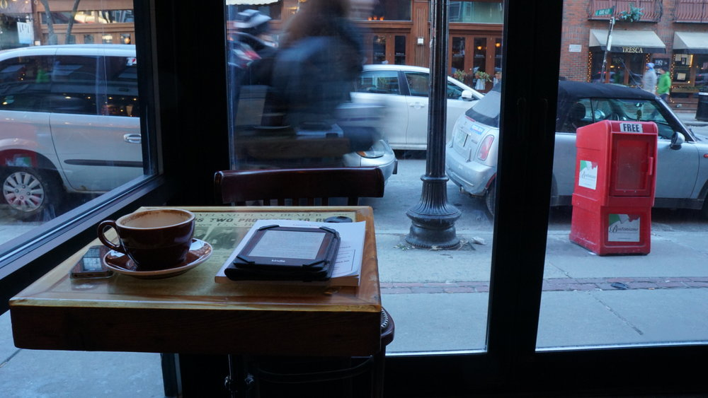 Thinking Cup (North End) - People watchers take note.