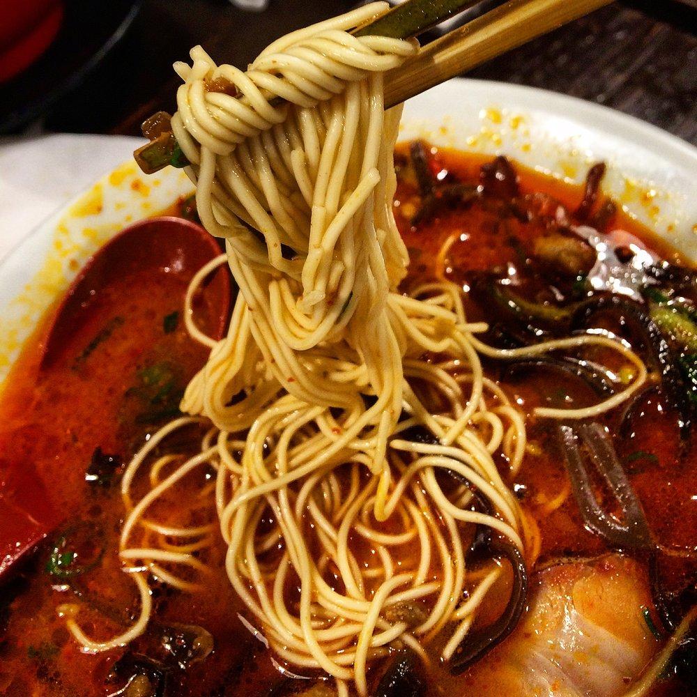 Spicy Ramen -Universal Noodle- Harajuku, Tokyo