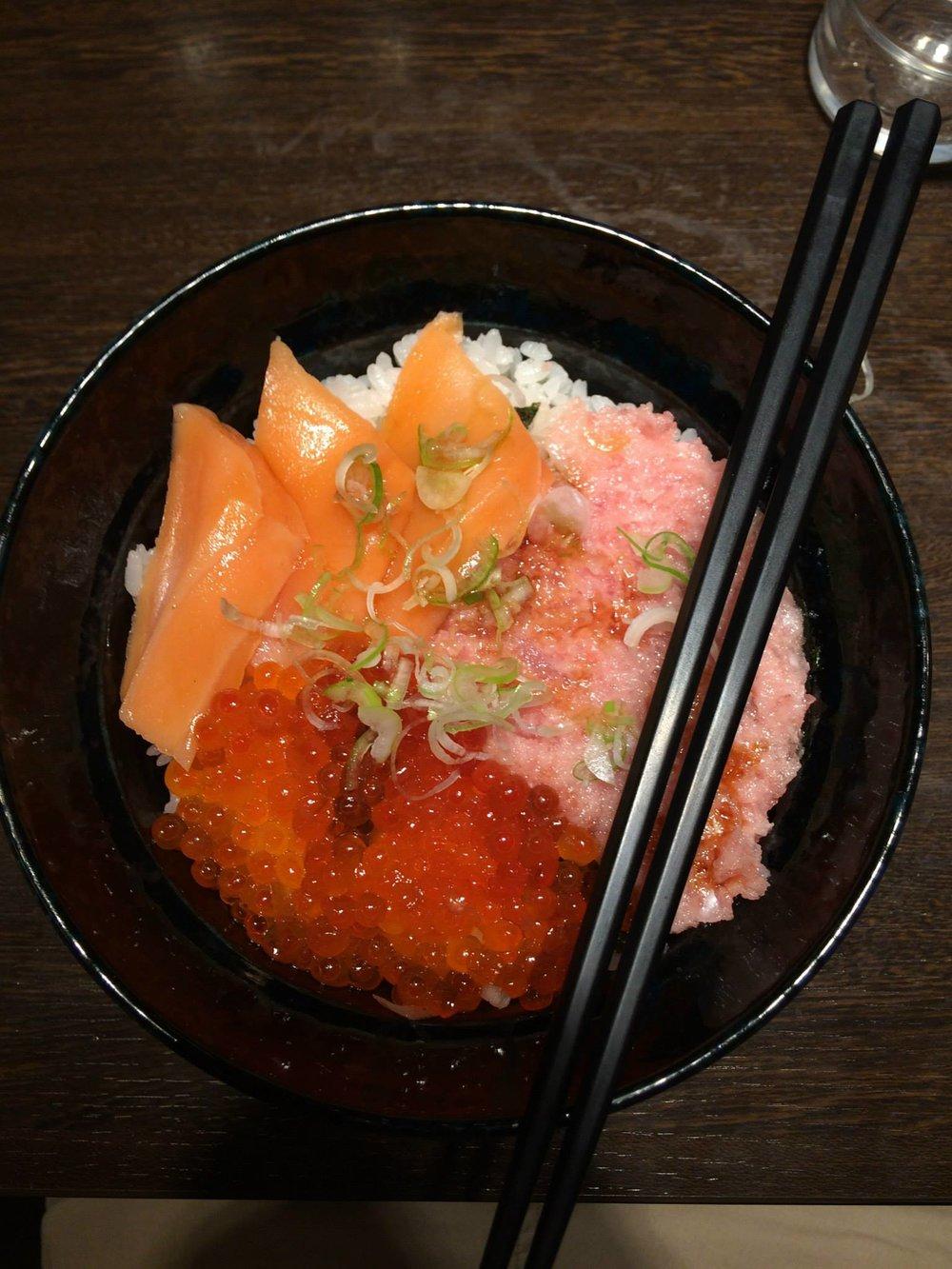 - Chirashi (aka Sushi Bowl!) - Akihabara, Tokyo