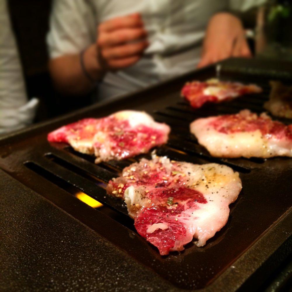 - Beef. - near Meiji University, Tokyo