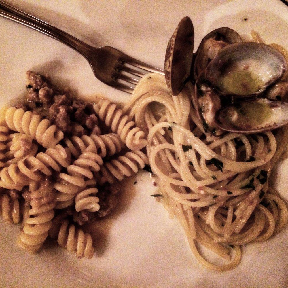 Pair of Pastas - Don Ciccio (2 Michelin stars) - Harajuku, Tokyo