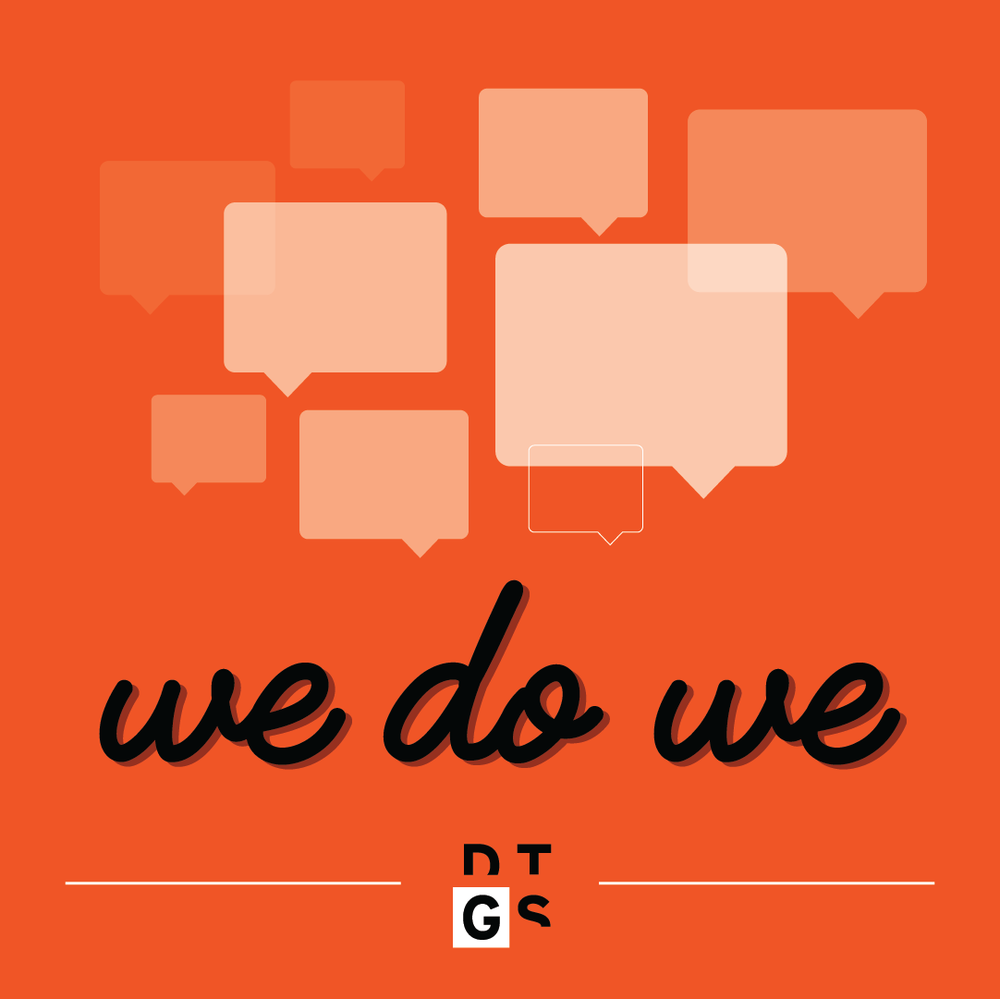 We Do We - Three friends sharing ideas and stories as they pursue health, wellness, and LIFE on their own terms. The first episode is all about what the heck it means to