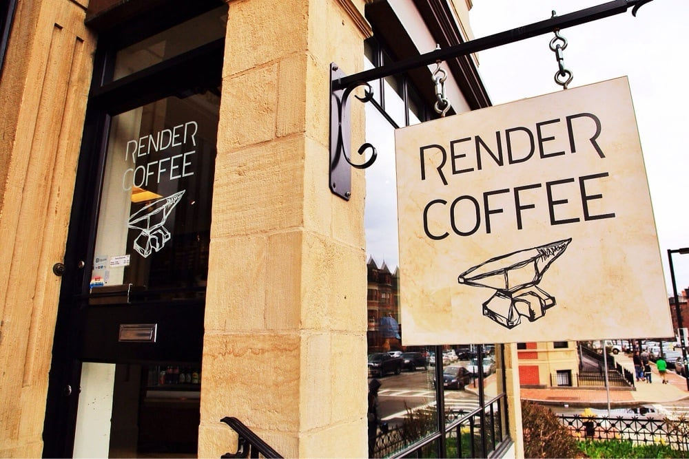 Render Coffee - The early birds get all the seats. (Ben G, Yelp)