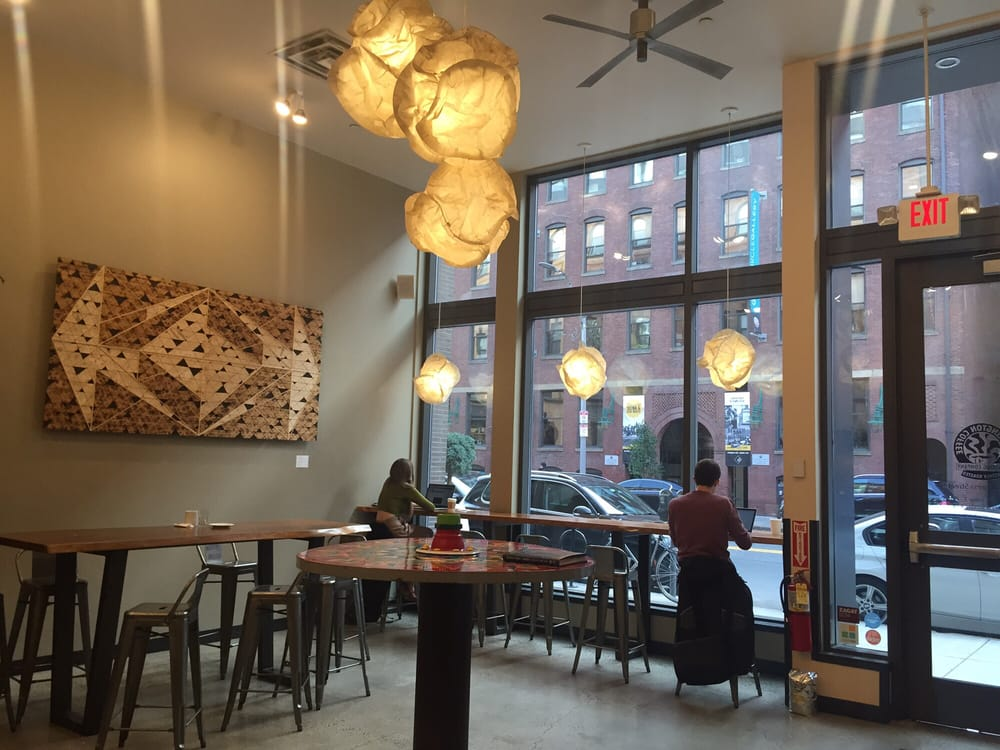 Barrington Coffee Roasting Co. (Fort Point) - When in Fort Point, do as the Pointers do (unless they're doing something astoundingly pretentious). (Charlene Y, Yelp)
