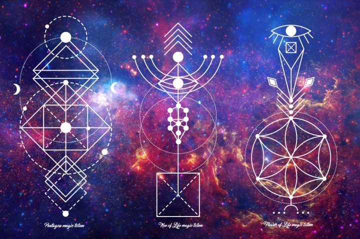 . Sacred Geometry. Magic Totem.By A.Slowik in Graphics / Illustrations