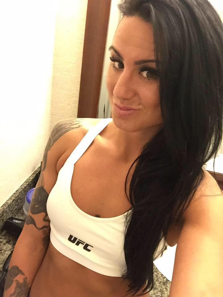 UFC Bantamweight Ashlee-Evans Smith attempts to get back in the win column at UFC 223 after losing 2 straight.