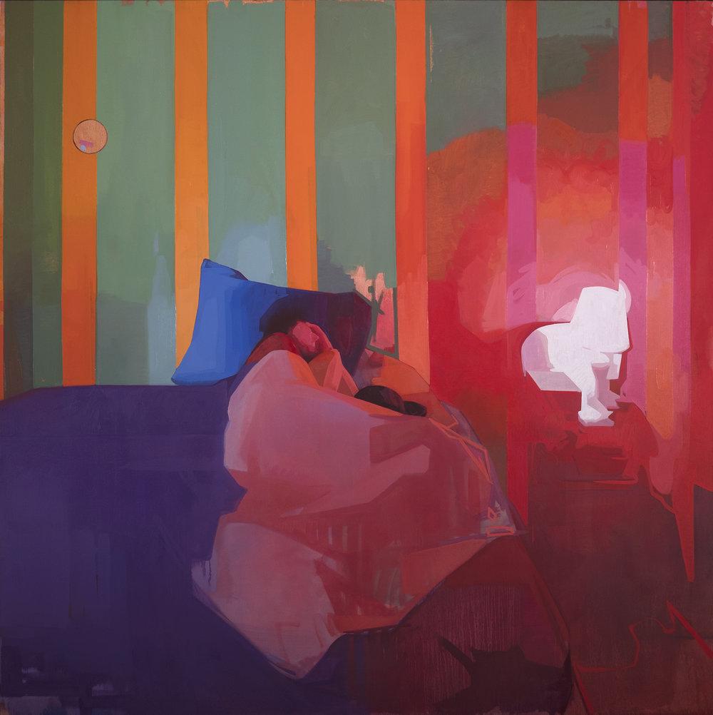 time traveler, 72-x72-, oil on canvas.jpg