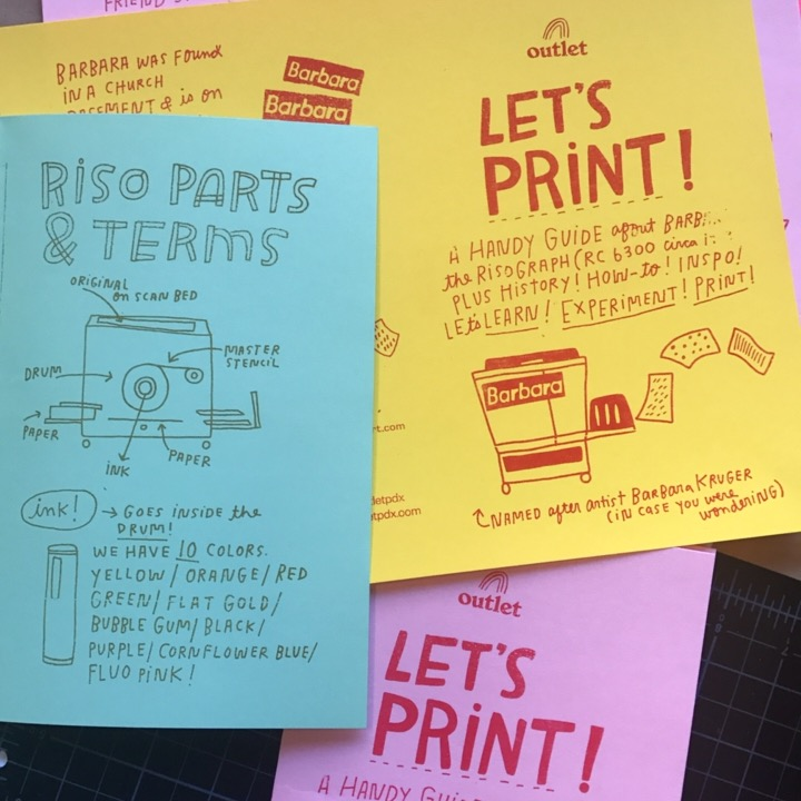 Our workshops include helpful guides and answers to your FAQs. Also, LOTS. OF. PRINTS. and experimentation! Come have fun!